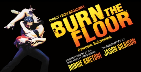Burn the Floor - 2 for 1 tickets in WA