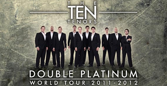 The Ten Tenors - 40% off tickets